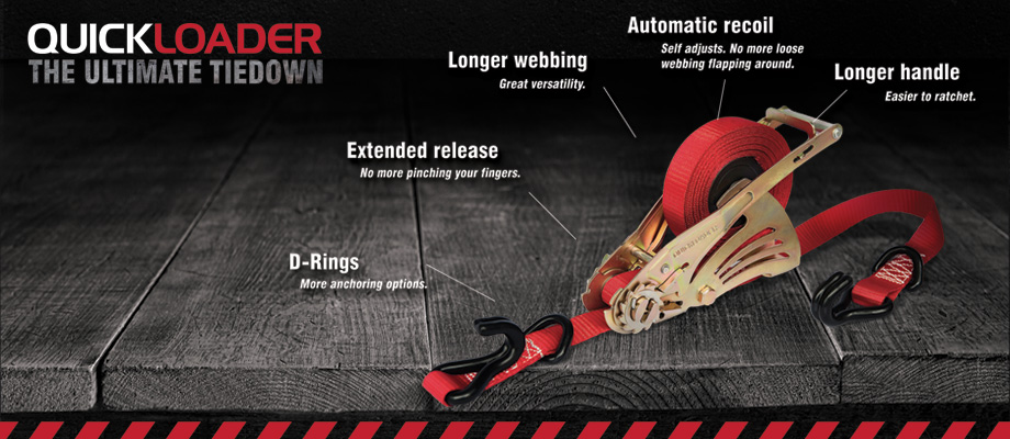 QuickLoader the Ultimate TieDown